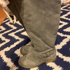 Old navy wide calf boots